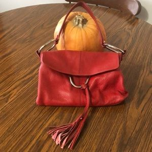 Leather and Suede Mini Bag